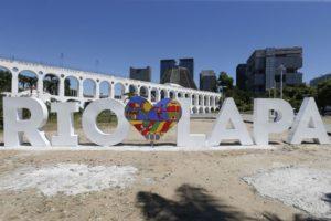 2020年に国際建築家連合の会議が開催されるリオ(ラッパ区のカリオッカ水道橋、Tomaz Silva/Ag. Brasil)