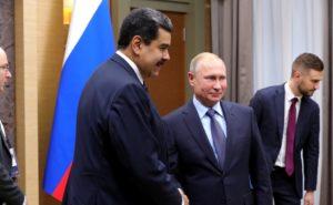 マドゥーロを支援するロシアのプーチン大統領(Foto Kremlin、05-12-2018)