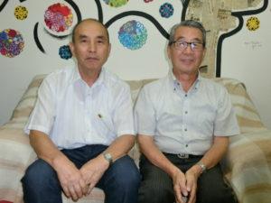 (左から)徳植さん、長田さん