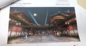本紙が入手したチャイナタウン計画のショッピングのイメージ図