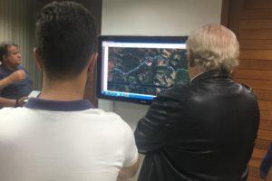 ダムが決壊した場合の被害シミュレーションを行うノーヴァ・リマ市(ノーヴァ・リマ市役所)