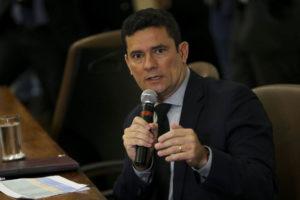 セルジオ・モロ法相(Marcelo Camargo/Ag. Brasil)