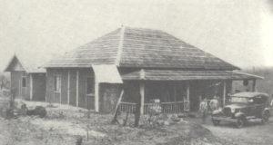 移住地のブラ拓事務所(1929年)