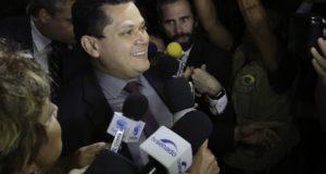 ダヴィ・アルコルンブレ上院議長(Fabio Rodrigues Pozzebom/Ag. Brasil)