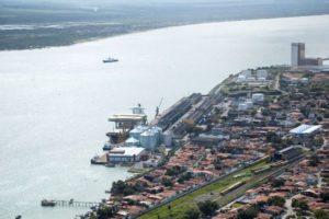 入札対象となったカベデード港のターミナルの一つ(Companhia Docas da Paraíba / Divulgação)