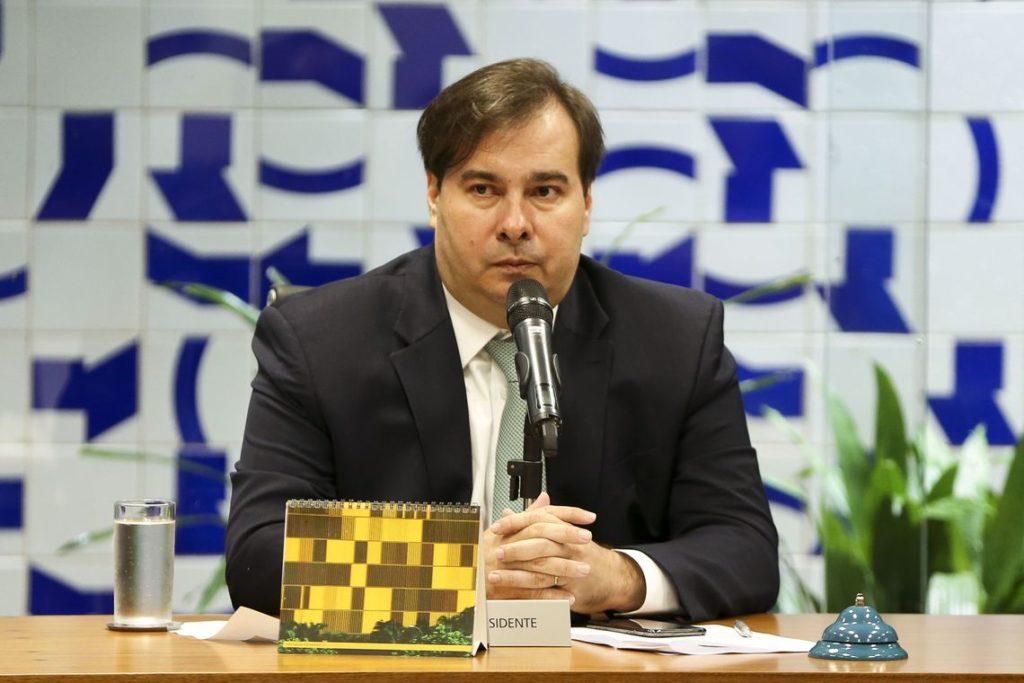 マイア議長(Tomaz Silva Agencia Brasil)