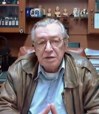 「ボウソナロの精神的指導者」オラーヴォ・デ・カルヴァーリョ(Olavo de Carvalho, From Wikimedia Commons)