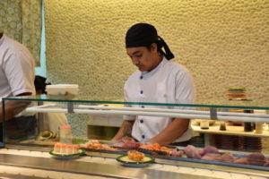 サービスの早さが人気な回転寿司
