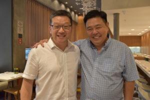 共同経営者の三宅さんと北川さん(左から)