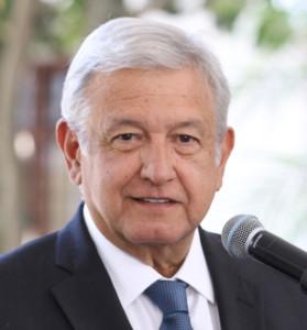 メキシコ大統領のアンドレス・マヌエル・ロペス・オブラドール氏(Agencia de Noticias ANDES)