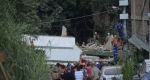消防士達による捜索・救出活動が続く事故後5日目の現場(Fernando Frazão/Agência Brasil)