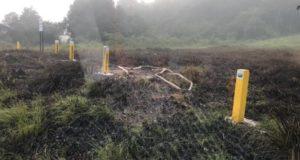 燃料漏れが起きた現場(Divulgação/Prefeitura de Duque de Caxias)