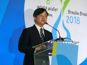 世界水フォーラムでご講演された