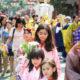 お釈迦さまの生誕を祝う=リベルダーデで今年も花祭り