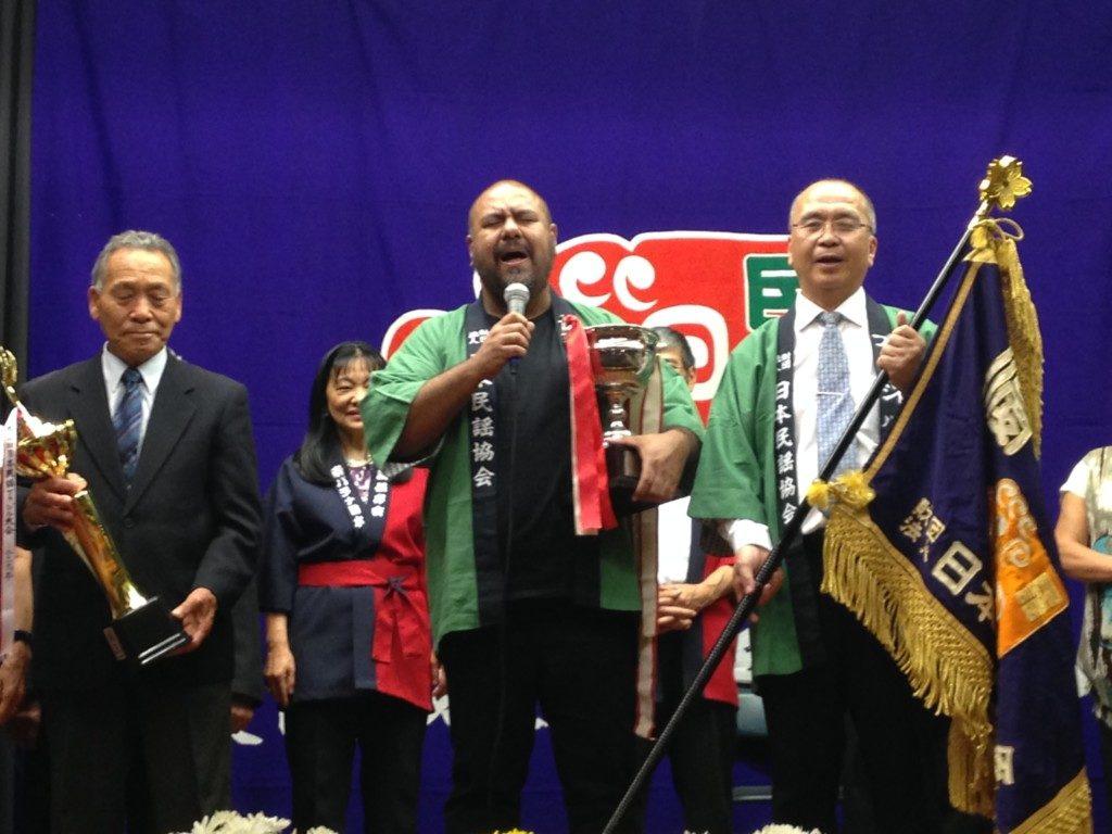 今大会で優勝した高木さん