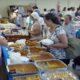 エスペランサ婦人会バザー=ボランティア200人動員=歌謡祭も盛況