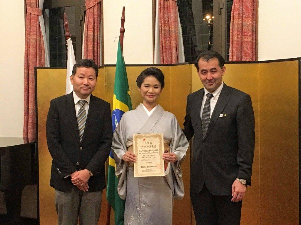日系ブラジル人としては初めて任命された白石さん