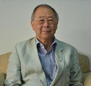 挨拶で来社した吉田エドワルド新理事長