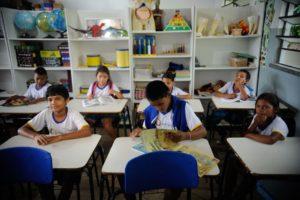 小学校の子どもたち(Arquivo Agencia Brasil)