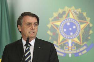 ボルソナロ大統領(Antonio Cruz/Agencia Brasil)