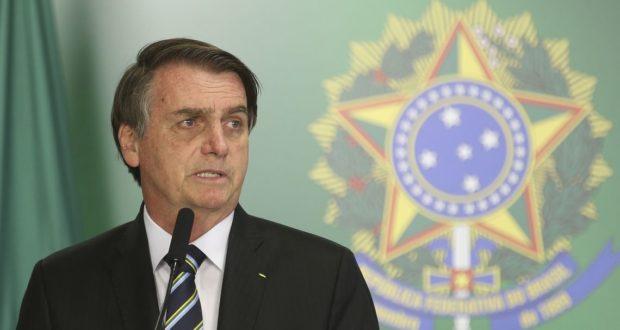 ボウソナロ大統領(Antonio Cruz/Agencia Brasil)
