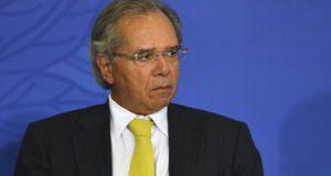 パウロ・ゲデス経済相(Valter Campanato/Agencia Brasil)
