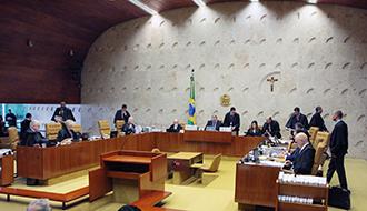 29日の最高裁大法廷(Carlos Moura/STF)
