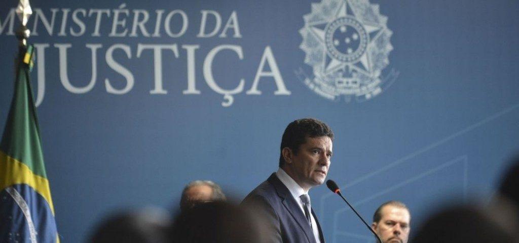 モロ法相(Foto : Marcello Casal Jr./Agencia Brasil)