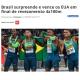 《ブラジル》陸上の男子400米リレーで初の世界一=IAAF世界リレー横浜大会で