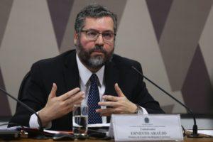 ブラジルのエルネスト・アラウージョ外相(Jose Cruz/Ag. Brasil)