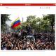 《ベネズエラ》グアイド氏が国民蜂起呼びかけ!=装甲車出動、一触即発の空気=「軍の支援得た」と宣言=体制派はクーデターと批判