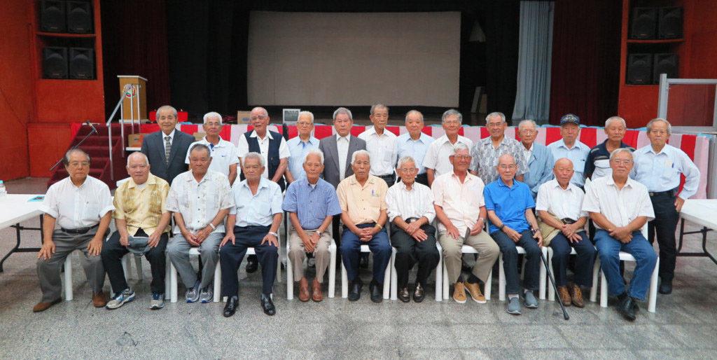 今年1月26日に開催された、在伯沖縄青年協会(知念直義会長)の定期総会・新年会の記念写真