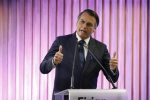 ボウソナロ大統領(Fernando Frazao/Agencia Brasil)