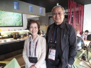 串間和子さんと夫の年純さん