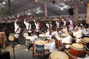 昨年開催したオザスコ日本祭りの様子