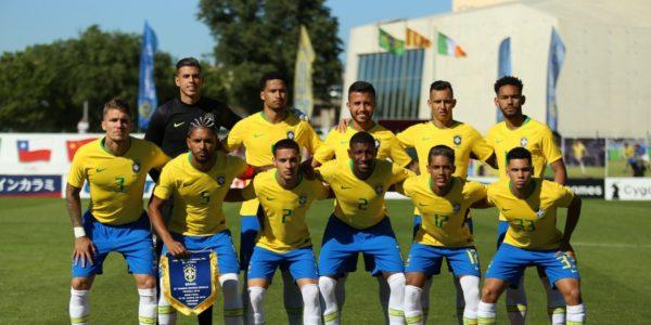決勝進出を決めた試合の先発メンバー(ブラジル、Fernando Torres/CBF)