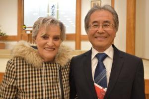 テルオ・カワムラさんと奥さん