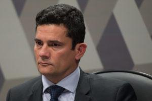モロ法相(Daniel Isaia/Agencia Brasil)