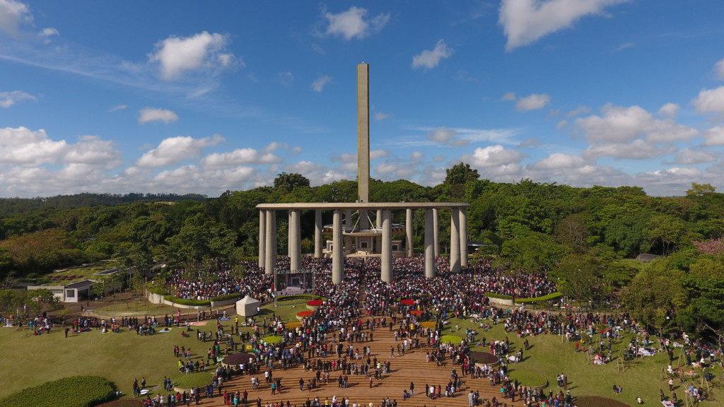 1995年11月に竣工したグァラピランガ聖地