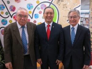 牧元会長、喜納会長、宮岡副会長