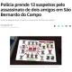 サンパウロ大都市圏=犯罪組織が友人2人を殺害か=容疑者18人中13人を逮捕