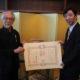在リオ総領事館=令和元年春の叙勲を伝達=宮本氏、田中氏が栄誉に浴す
