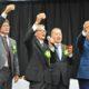 アマゾン90周年記念式典3都市で=トメアスー、500人以上出席=州議会議長、舗装着工を宣言
