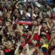 《ブラジルサッカー》国内人気No1はフラメンゴ=全体の20%が支持=ホーム平均観客動員も唯一の5万人台