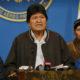 ボリビア政変=モラレス大統領が辞任発表=不正選挙疑惑の混乱収束せず=幹部も続々辞任、権力の空白発生