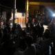 佛心寺初ジャズ公演に100人=神妙な雰囲気の中、軽快な演奏