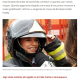 《ブラジル》一足早いクリスマスプレゼント=消防士の日に路上生活者の夕食会
