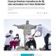 《リオ州》初接種はキリスト像の足元で=59歳の看護婦と80歳の女性