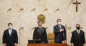 大統領や上院議長も同席した1日の最高裁大法廷(SCO/STF)