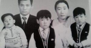 】移民する前の韓国での鄭夏源さん家族